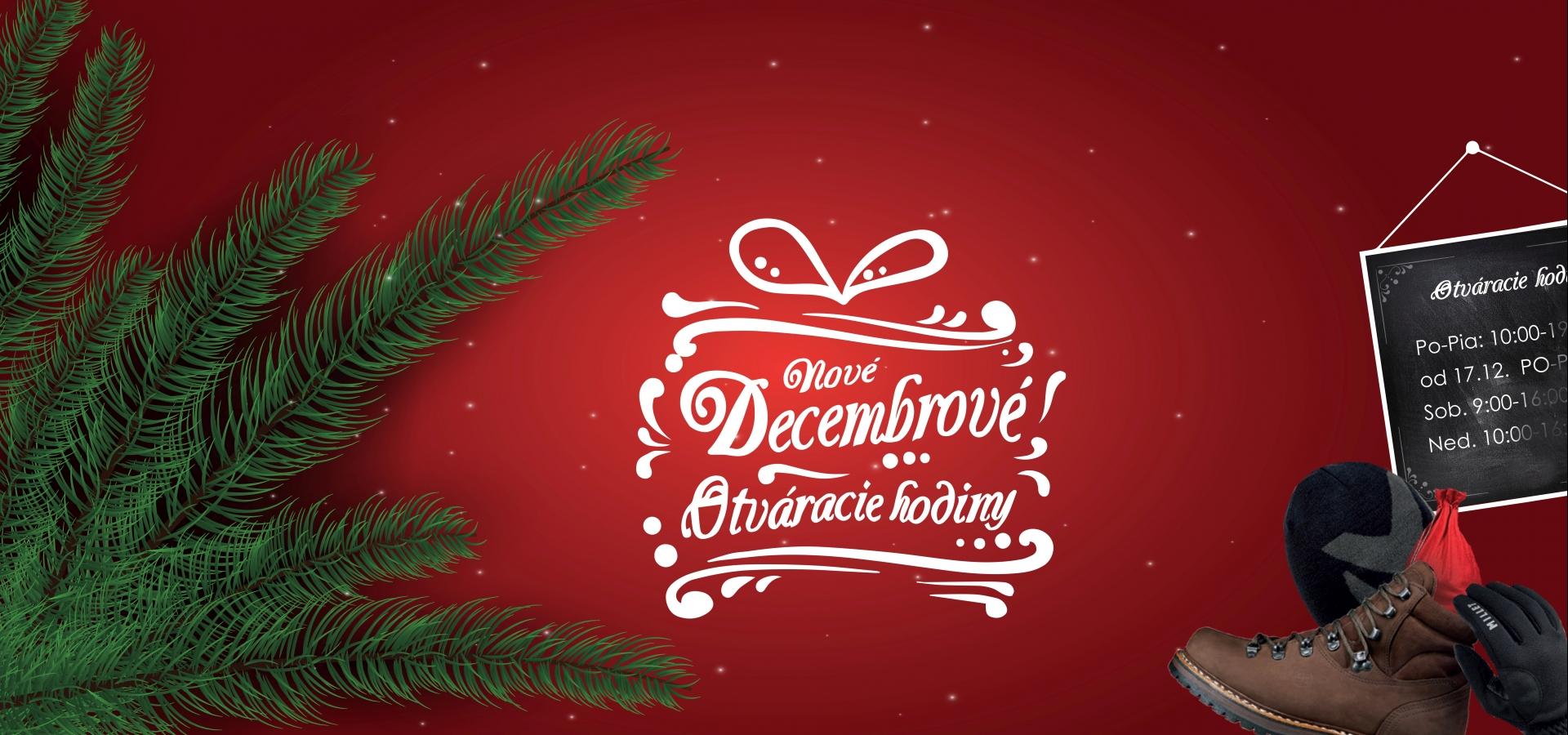 Decembrové otváracie hodiny